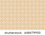 simple geometric decorative... | Shutterstock .eps vector #648479950