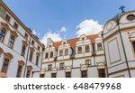 top of the historic castle in... | Shutterstock . vector #648479968