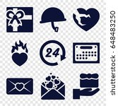 day icons set. set of 9 day... | Shutterstock .eps vector #648483250