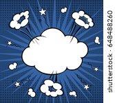 art comic explosion. comic... | Shutterstock .eps vector #648488260