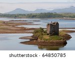 Small Medieval Castle On Small...