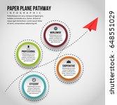 vector illustration of paper... | Shutterstock .eps vector #648551029