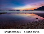 Lake Mcdonald At Sunrise