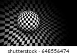 background 3d black and white... | Shutterstock .eps vector #648556474