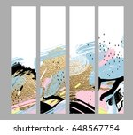 collection of artistic creative ... | Shutterstock .eps vector #648567754