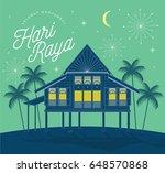 raya greetings template vector... | Shutterstock .eps vector #648570868