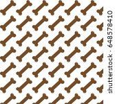 pattern background dog bone icon | Shutterstock .eps vector #648578410