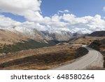 view from top of loveland pass | Shutterstock . vector #648580264