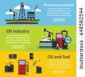 oil industry gas banner... | Shutterstock .eps vector #648582544