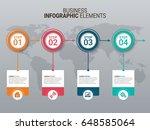 modern infographic timeline... | Shutterstock .eps vector #648585064