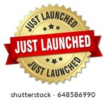 just launched round isolated...   Shutterstock .eps vector #648586990