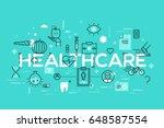 healthcare  medicine  medical...   Shutterstock .eps vector #648587554