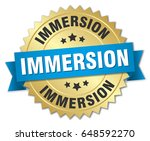 immersion round isolated gold... | Shutterstock .eps vector #648592270