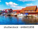 scenic summer outdoor view of... | Shutterstock . vector #648601858