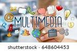 businessman on blurred...   Shutterstock . vector #648604453