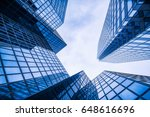 office building | Shutterstock . vector #648616696