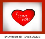 heart and character i love you   Shutterstock .eps vector #648620338