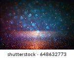 glitter vintage lights... | Shutterstock . vector #648632773
