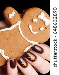 Manicure With Ginger Cookies
