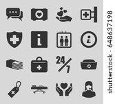 help icons set. set of 16 help...   Shutterstock .eps vector #648637198