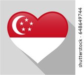 heart icon with a combination... | Shutterstock .eps vector #648649744
