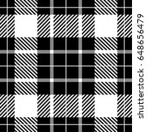 seamless plaid lumberjack and... | Shutterstock .eps vector #648656479