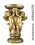 Golden Statue With Angels On A...