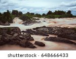 landscape of lee pee or lee phe ...   Shutterstock . vector #648666433