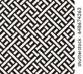 interlacing lines maze lattice. ...   Shutterstock .eps vector #648674263