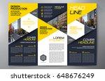 business brochure. flyer design.... | Shutterstock .eps vector #648676249