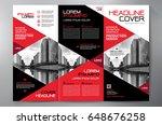 business brochure. flyer design.... | Shutterstock .eps vector #648676258