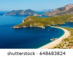 summer view to oludeniz lagoon...
