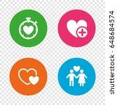 valentine day love icons. love...   Shutterstock .eps vector #648684574