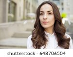 portrait of a confident modern... | Shutterstock . vector #648706504