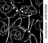 floral vintage seamless... | Shutterstock .eps vector #648720088