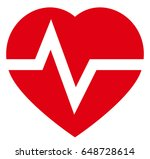 heartbeat icon | Shutterstock .eps vector #648728614