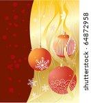 christmas card | Shutterstock .eps vector #64872958