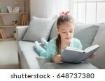 young teenager girl alone at...   Shutterstock . vector #648737380
