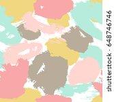 paint drops background. vector... | Shutterstock .eps vector #648746746