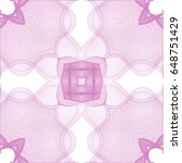 seamless guilloche vector...   Shutterstock .eps vector #648751429