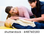 Group Of Women In First Aid...