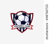 football club bagde  soccer... | Shutterstock .eps vector #648760723