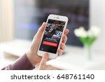 alushta  russia   may 23  2017  ... | Shutterstock . vector #648761140