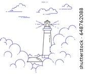 traveling horizontal banner... | Shutterstock .eps vector #648762088