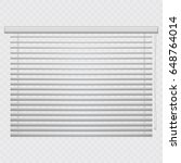 jalousie  louvers on... | Shutterstock .eps vector #648764014
