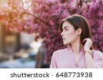 outdoor close up portrait of ... | Shutterstock . vector #648773938