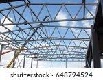 metal frame buildings | Shutterstock . vector #648794524