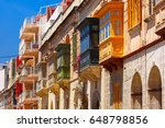 the traditional maltese... | Shutterstock . vector #648798856