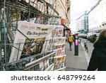 paris  france   mar 23  2017 ... | Shutterstock . vector #648799264