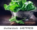 Spinach. Fresh Organic Spinach...